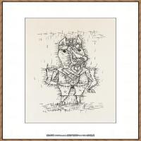 画家保罗克利Paul Klee油画作品高清图片野兽派油画大师作品高清大图 (118)