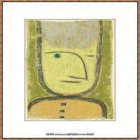 画家保罗克利Paul Klee油画作品高清图片野兽派油画大师作品高清大图 (33)