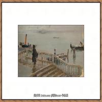 列宾Ilya Repin经典油画作品高清图片人物肖像油画作品图片素材写实派画家油画作品大图 (24)