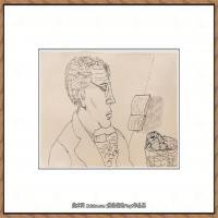 英国表现派绘画大师卢西安弗洛伊德Lucian Freud油画作品高清大图最贵画家卢西安弗洛伊德绘画作品高清图库 (90)