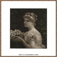 弗雷德里克莱顿洛德莱顿Frederic_Leighton油画作品高清大图古典油画作品高清图片 (67)