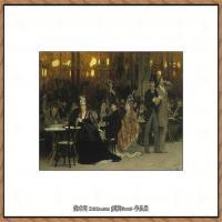 列宾Ilya Repin经典油画作品高清图片人物肖像油画作品图片素材写实派画家油画作品大图 (18)