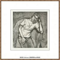 英国表现派绘画大师卢西安弗洛伊德Lucian Freud油画作品高清大图最贵画家卢西安弗洛伊德绘画作品高清图库 (22)