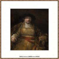 荷兰现实主义画家伦勃朗Rembrandt17世纪最伟大的画家油画作品高清大图肖像画风景画风俗画宗教画 (6)