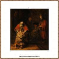 荷兰现实主义画家伦勃朗Rembrandt17世纪最伟大的画家油画作品高清大图肖像画风景画风俗画宗教画 (1)