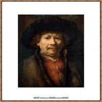荷兰现实主义画家伦勃朗Rembrandt17世纪最伟大的画家油画作品高清大图肖像画风景画风俗画宗教画 (68)