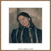 法国著名画家保罗塞尚Paul Cézanne印象派油画作品高清图片塞尚静物画塞尚风景画图片 (137)