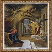 西班牙著名宗教画肖像画画家埃尔格列柯El Greco绘画作品高清图片 (106)