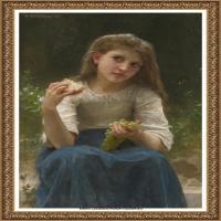 法国学院派画家威廉阿道夫布格罗Bouguereau Adolphe William油画人物高清图片 (72)