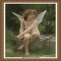 法国学院派画家威廉阿道夫布格罗Bouguereau Adolphe William油画人物高清图片 (76)