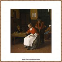 法国著名静物画家夏尔丹Jean Baptiste Siméon静物画巨匠夏尔丹油画作品高清图片 (40)