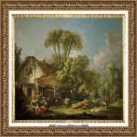 法国洛可可风格画派画家弗朗索瓦布歇Francois Boucher油画作品高清图片肖像画古典宫廷油画高清图片 (241)