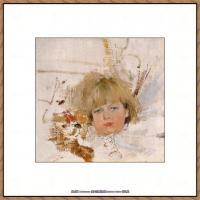 俄裔美籍画家尼古拉费申Nicolai Ivanovich Fechin油画作品高清图片 (35)