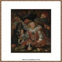 荷兰17世纪著名肖像画家德克哈尔斯Dirck Hals油画人物作品高清图片 (12)