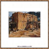 俄裔美籍画家尼古拉费申Nicolai Ivanovich Fechin油画作品高清图片 (9)