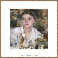 俄裔美籍画家尼古拉费申Nicolai Ivanovich Fechin油画作品高清图片 (58)