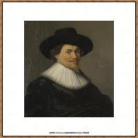 荷兰17世纪著名肖像画家德克哈尔斯Dirck Hals油画人物作品高清图片 (25)