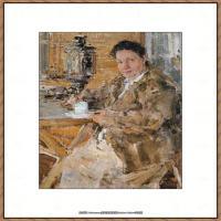 俄裔美籍画家尼古拉费申Nicolai Ivanovich Fechin油画作品高清图片 (46)