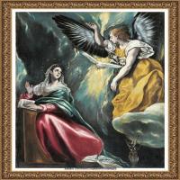西班牙著名宗教画肖像画画家埃尔格列柯El Greco绘画作品高清图片 (68)