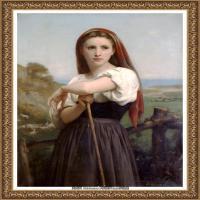 法国学院派画家威廉阿道夫布格罗Bouguereau Adolphe William油画人物高清图片 (77)
