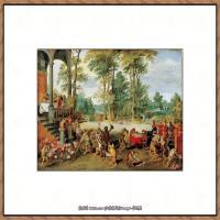 彼得勃鲁盖尔Bruegel Pieter荷兰画家油画作品高清图片 (78)