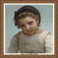 法国学院派画家威廉阿道夫布格罗Bouguereau Adolphe William油画人物高清图片 (80)