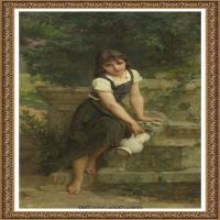 法国学院派画家威廉阿道夫布格罗Bouguereau Adolphe William油画人物高清图片 (64)