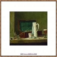 法国著名静物画家夏尔丹Jean Baptiste Siméon静物画巨匠夏尔丹油画作品高清图片 (27)