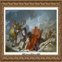 法国洛可可风格画派画家弗朗索瓦布歇Francois Boucher油画作品高清图片肖像画古典宫廷油画高清图片 (223)