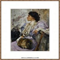 俄裔美籍画家尼古拉费申Nicolai Ivanovich Fechin油画作品高清图片 (51)