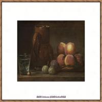 法国著名静物画家夏尔丹Jean Baptiste Siméon静物画巨匠夏尔丹油画作品高清图片 (49)