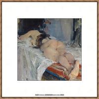 俄裔美籍画家尼古拉费申Nicolai Ivanovich Fechin油画作品高清图片 (37)