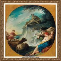 法国洛可可风格画派画家弗朗索瓦布歇Francois Boucher油画作品高清图片肖像画古典宫廷油画高清图片 (26)