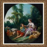 法国洛可可风格画派画家弗朗索瓦布歇Francois Boucher油画作品高清图片肖像画古典宫廷油画高清图片 (258)
