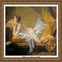 法国洛可可风格画派画家弗朗索瓦布歇Francois Boucher油画作品高清图片肖像画古典宫廷油画高清图片 (242)