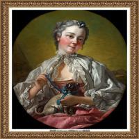 法国洛可可风格画派画家弗朗索瓦布歇Francois Boucher油画作品高清图片肖像画古典宫廷油画高清图片 (227)