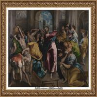 西班牙著名宗教画肖像画画家埃尔格列柯El Greco绘画作品高清图片 (137)