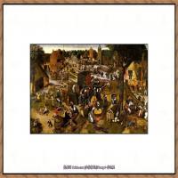 彼得勃鲁盖尔Bruegel Pieter荷兰画家油画作品高清图片 (52)