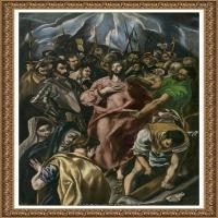 西班牙著名宗教画肖像画画家埃尔格列柯El Greco绘画作品高清图片 (71)