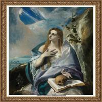 西班牙著名宗教画肖像画画家埃尔格列柯El Greco绘画作品高清图片 (139)