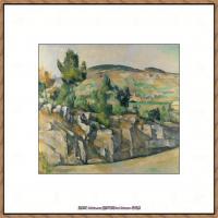 法国著名画家保罗塞尚Paul Cézanne印象派油画作品高清图片塞尚静物画塞尚风景画图片 (143)