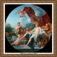 法国洛可可风格画派画家弗朗索瓦布歇Francois Boucher油画作品高清图片肖像画古典宫廷油画高清图片 (25)