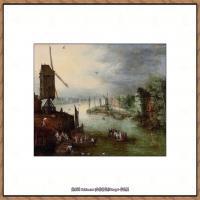 彼得勃鲁盖尔Bruegel Pieter荷兰画家油画作品高清图片 (80)