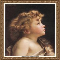 法国学院派画家威廉阿道夫布格罗Bouguereau Adolphe William油画人物高清图片 (63)