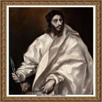 西班牙著名宗教画肖像画画家埃尔格列柯El Greco绘画作品高清图片 (128)
