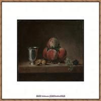 法国著名静物画家夏尔丹Jean Baptiste Siméon静物画巨匠夏尔丹油画作品高清图片 (3)