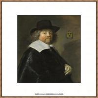 荷兰17世纪著名肖像画家德克哈尔斯Dirck Hals油画人物作品高清图片 (41)