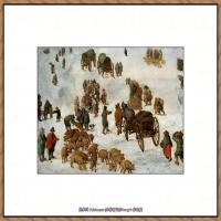 彼得勃鲁盖尔Bruegel Pieter荷兰画家油画作品高清图片 (66)