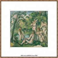 法国著名画家保罗塞尚Paul Cézanne印象派油画作品高清图片塞尚静物画塞尚风景画图片 (115)