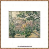 法国著名画家保罗塞尚Paul Cézanne印象派油画作品高清图片塞尚静物画塞尚风景画图片 (117)